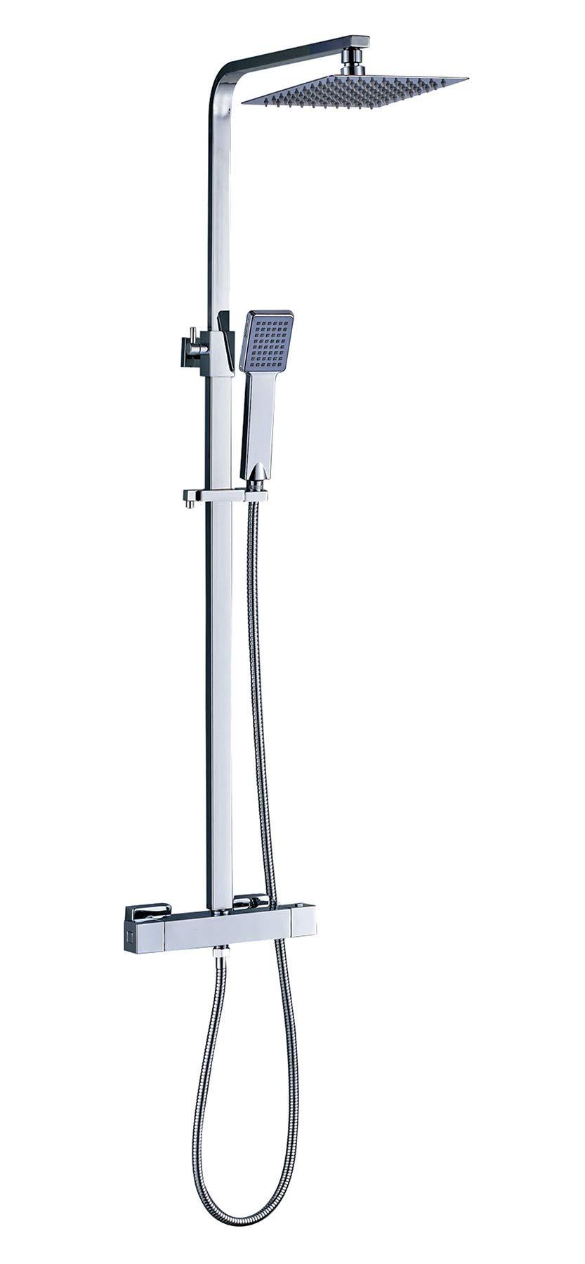 OXEN 120704 – Columna de ducha termostática (extra plana)