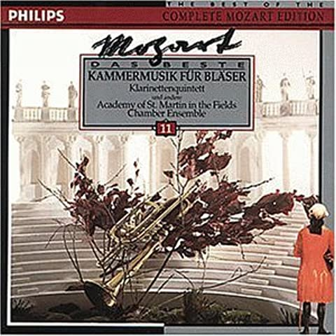 Chamber Music for Winds by Soloists, Asmf, Grumiaux Trio [Music CD]