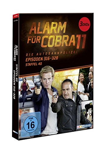 Alarm für Cobra 11 - Staffel 40, Episoden 316-328 [3 DVDs]
