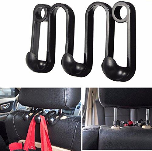 Schwarz Autositz Kleiderhaken Handtasche Tasche Hngen Kleiderbgel Auto Veranstalter