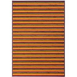 140 x 200 color Naranja, para salón
