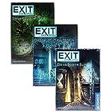 Exit Kosmos Spiel - Burg + Insel + Eis der Rätsel Hit Vorteilspack