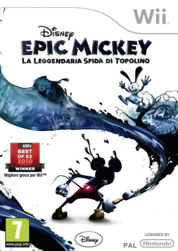 Disney Epic Mickey: La Leggendaria Sfida Di Topolino