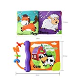 Balai Baby Kleinkind Frühe Pädagogische Englisch Lernen Soft Touch Tuch Buch mit Sound Beißringe Funktion