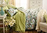 JYLW Vier Stück Bettwäsche set,Kreativität, Persönlichkeit, Mode, Haushalt Bettwäsche, 1,8, 2 Meter Bett Formatvorlage Farbe ausgewählt,200*230CM245*245CM48*74*2CM