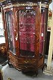Barock Vitrine Rokoko Antik Stil Schrank Louis XV AaVi0151Def
