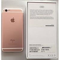 Apple iPhone 6s Smartphone débloqué 4G (Ecran : 4,7 pouces - 64 Go - iOS 9) Rose