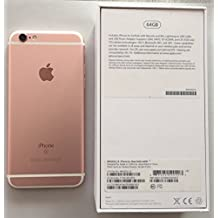 "Apple iPhone 6s - Smartphone libre iOS (4.7"", 64 GB, 2 GB RAM, 4G), color rosa"