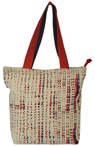 Pick Pocket Women's Tote Bag (Red, TOin307)  available at amazon for Rs.149