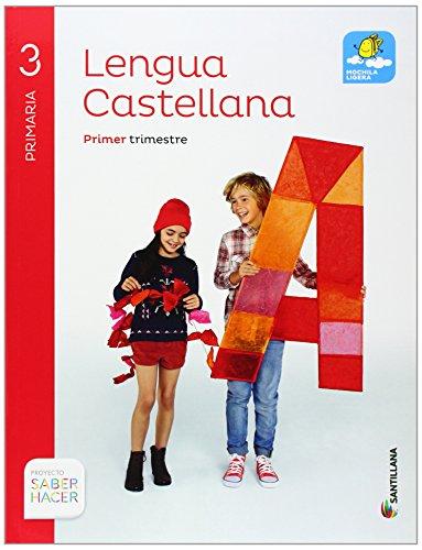 Lengua Castellana 3 Primaria, Saber Hacer, pack de 4 libros