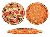 Pizza Kissen in Pizzakarton Pizzakissen Pizzaschachtel Geschenkidee 40cm Salamipizza Pizza Tomate von Alsino, Variante wählen:Ki-150 Tomate