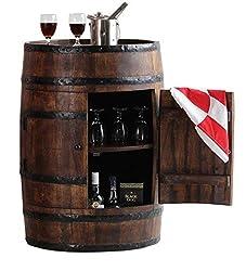 Altavista Alcodrum Bar Cabinet With Door (Teak Finish)
