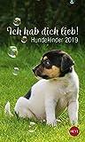 Mini Hundekinder Ich hab dich lieb! - Kalender 2019