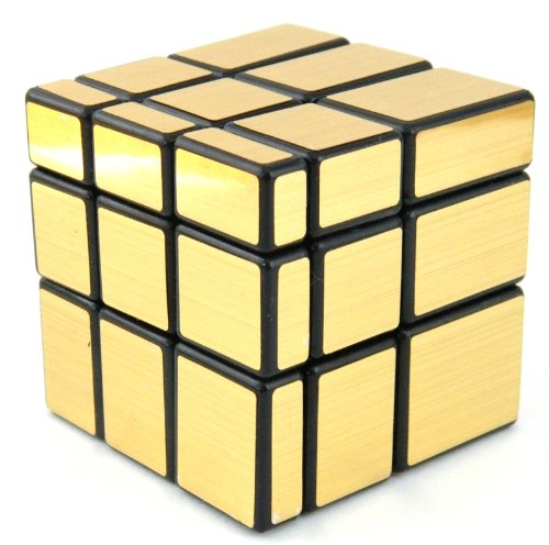 Mirror Blocks Gold Mat Magic Cube Puzzle Brain Teaser- MC327