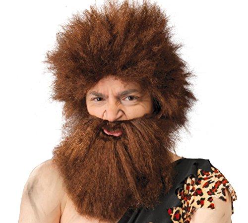 Guirca fiestas gui4870–cavernicolo della parrucca con barba (Box Container)