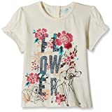 #5: Disney Baby Girls' Blouse Shirt (TC 2851_Off-White_9-12 Months)