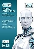 ESET NOD32 AntiVirus 2016 - 3 Computer (Frustfreie Verpackung)