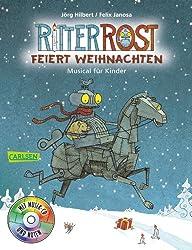 Ritter Rost: Ritter Rost feiert Weihnachten: Buch mit CD
