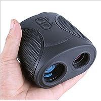 YMXLJJ Telémetro De Golf 7 * 32 Precisión A 1200 Metros Telémetro De Caza,Black