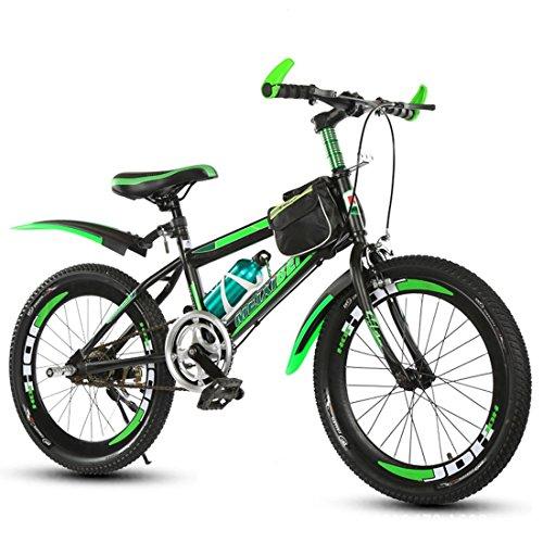Vélo Pour Enfants Vélo De Montagne Enfants Garçons Et Filles Cyclisme Non Variable Vitesse 18 Pouces 20 Pouces 22 Pouces ( Size : Green 20 inch )