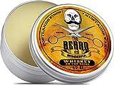 The Beard and The Wonderful - Cera per baffi Whiskey on the Rocks, 15 ml, soluzione forte di qualità per la messa in piega di baffi e barba, per torcere e arricciare le punte