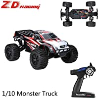 Glory.D Racing 4WD 1/10 RC eléctrico Monster Truck del coche que sube del camino Rock Crawler 55km / h