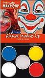 Kreul Fantasy Aqua Make Up Picture Clown, 1er Pack (1 x 7 Stück)