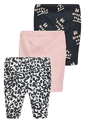 next Lot de trois leggings (0 à 2ans) mixte bébé Standard Multicolore 3-6 mois