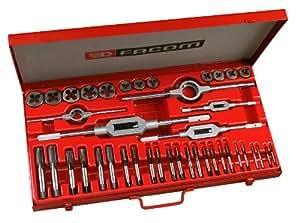 Facom coffret tarauds fili res et accessoires bricolage - Coffret tarauds et filieres ...