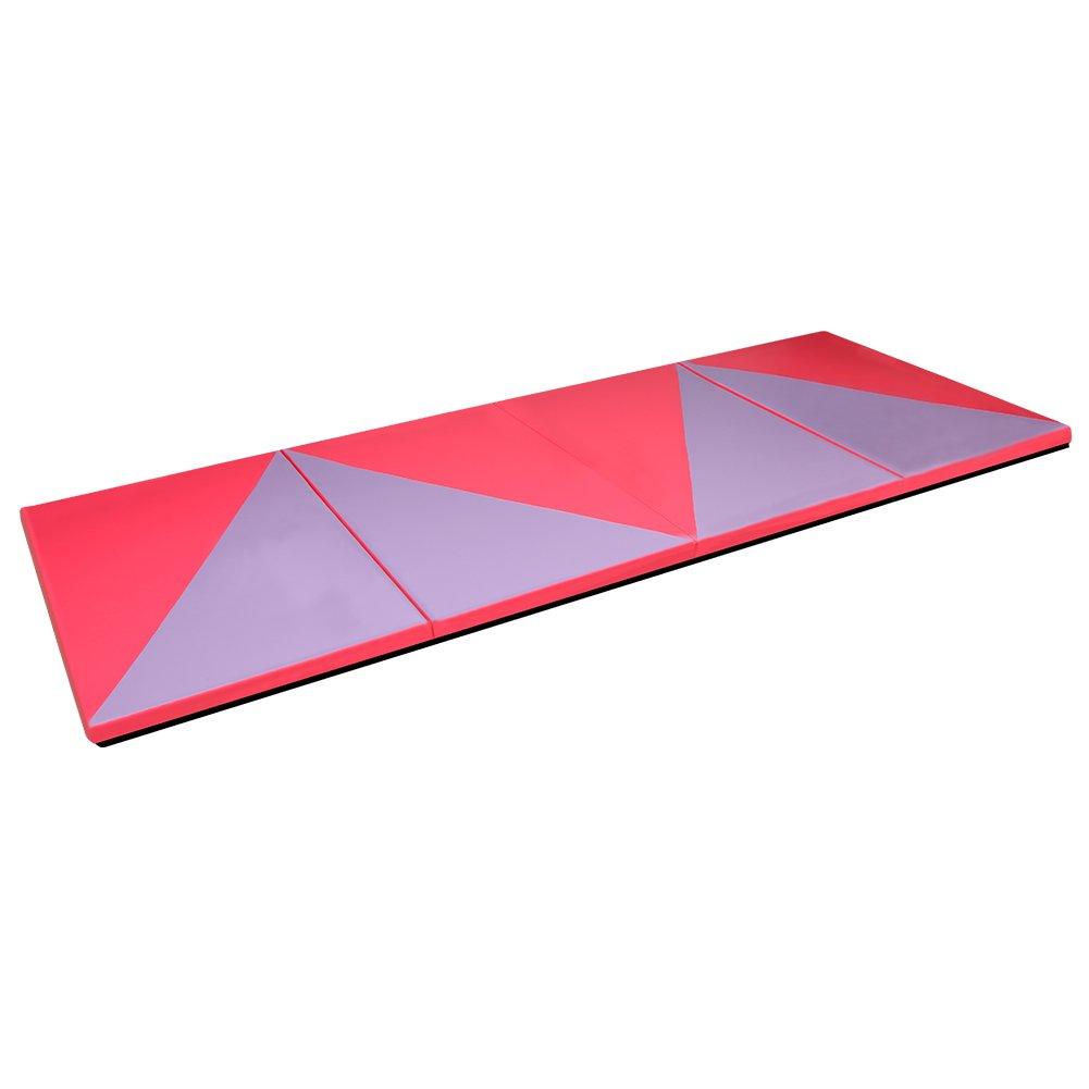 Cclife Tapis De Gymnastique Pliable Tapis De Yoga Pliant Tapis