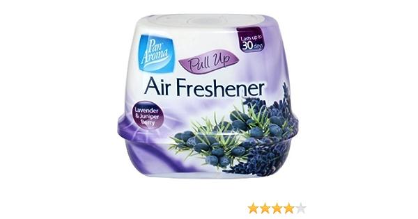 3 X Pan Aroma Pull Up Lufterfrischer Lavendel Juniper Berry Küche Haushalt