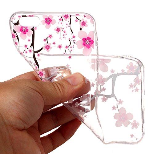 Cover iPhone 6/ 6s Plus, Sportfun morbido protettiva TPU Custodia Case in silicone per iPhone 6/ 6s Plus (modello 5) modello 10