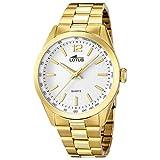 Lotus Reloj Analógico para Hombre de Cuarzo con Correa en Acero Inoxidable 8430622609749