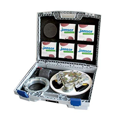 Columbus Zubehör: Janser Koffer-Set f. TRIVO-Disc Dreischeibenteller im Koffer inkl. Klettscheiben