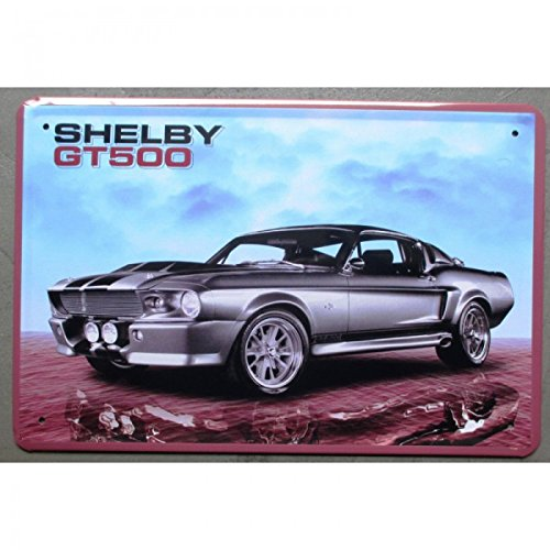 inconnu-plaque-ford-mustang-shelby-gt-500-eleonore-tole-pub-garage