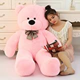 #6: AVS Stuffed Teddy Bear - 3 Feet - Pink