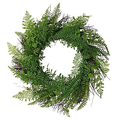UArtlines-559-cm-Knstlicher-Sukkulentenkranz-Farn-Pflanzen-Frhjahrshintergrund-Ornamente-Girlande-Tr-Krnze-Display-fr-ZuhauseWandWeihnachtenPartyFestival-Dekoration