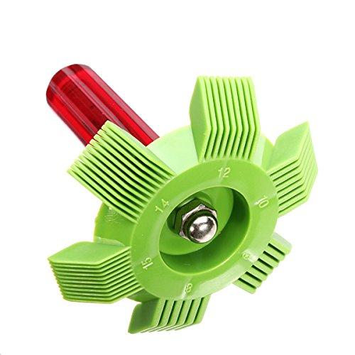 Preisvergleich Produktbild Wuchance Abkühlung Wechselstrom-Kondensator-Plastikflossen-Strecker für die Reinigung