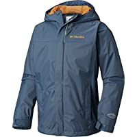 Columbia Watertight Chaqueta para Lluvia, Niños, Azul (Dark Mountain), S