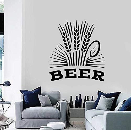Wandaufkleber Bier Wandtattoo Alkohol Drin Pub Bar