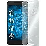 PhoneNatic 2 x Glas-Folie klar kompatibel mit Google Nexus 5X - Panzerglas für Nexus 5X