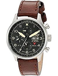 Ingersoll Bison No. 71–Reloj de pulsera Cronógrafo Automático Piel in1513sbk