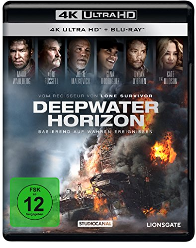 Deepwater Horizon - Ultra HD Blu-ray [4k + Blu-ray Disc]