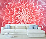 StickersWall Pink Chrysanthemum Flowers Nature Wall Mural Photo Wallpaper Picture Self Adhesive 1089 (342cm(W) x 242cm(H))