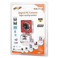 Shivox Digital PC Camera SX-8010BL, Red