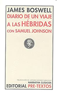 Diario De Un Viaje A Las Hébridas Con Samuel Johnson par James Boswell