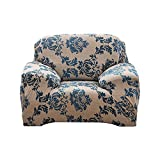 Yeldou Stretch Sofa Covers with Printed Pattern,Couch Slipcovers Furniture Protector Snag Resistant