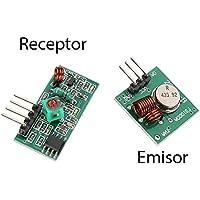 Modul Wireless Sender und Empfänger RF 433MHz Fernbedienung Receiver Arduino