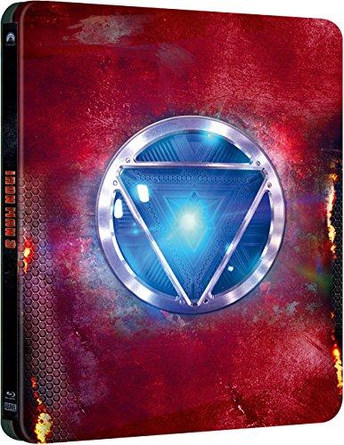 Iron Man 3 (Caja metálica) [Blu-ray] 51cymBRbYUL