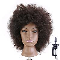 Afro Mannequin Head Hairdressing Head